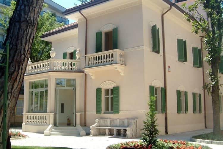 villa liberty riccione