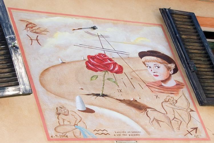 Borgo San Giuliano di Rimini- murales