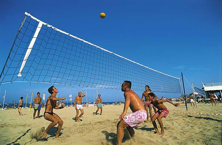 spiaggia riccione beach volley