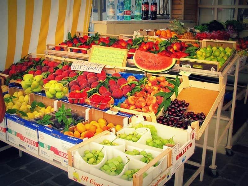 frutta fresca gabicce mare