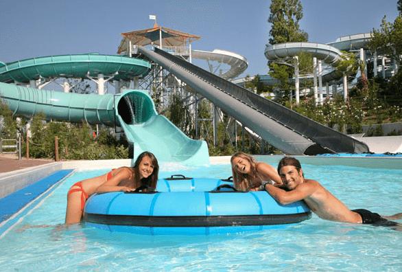 parco scivoli aquafan