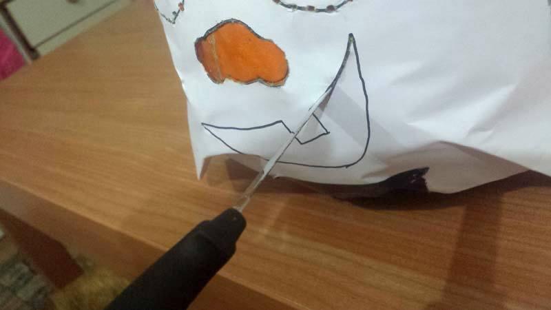 Fare la zucca di Halloween