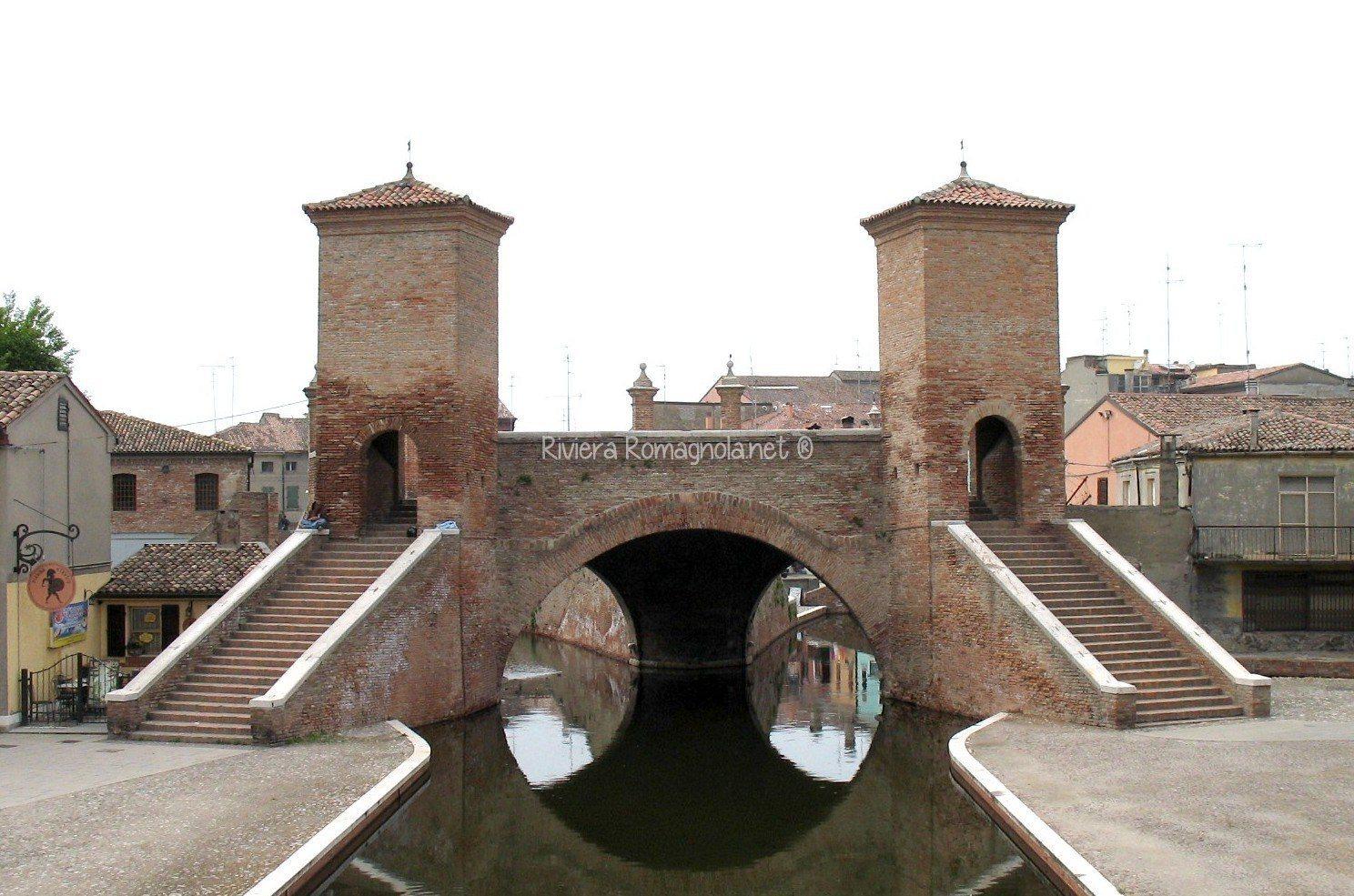 Tour di Comacchio - Ponte Trepponti