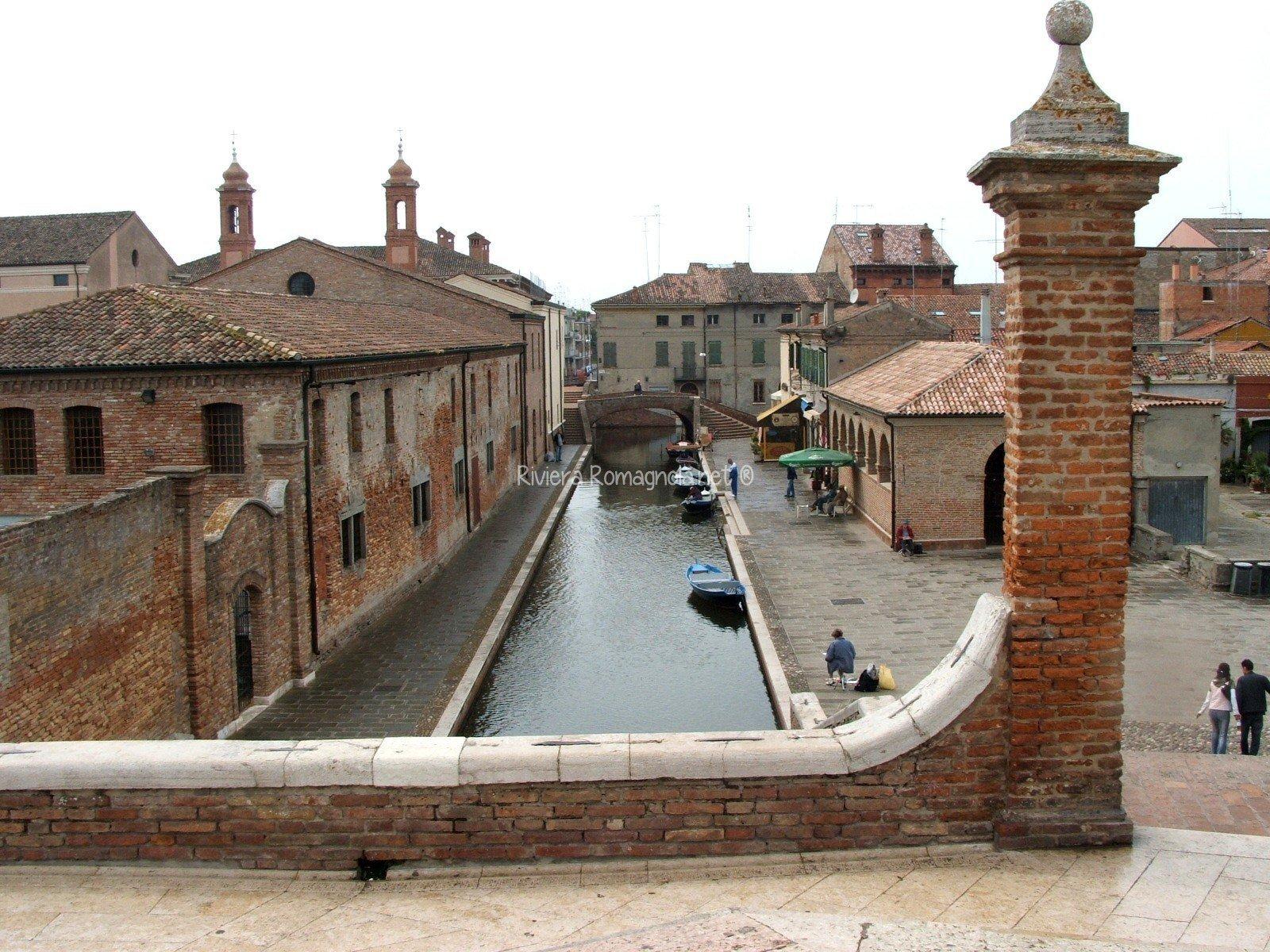 Tour di Comacchio - vista