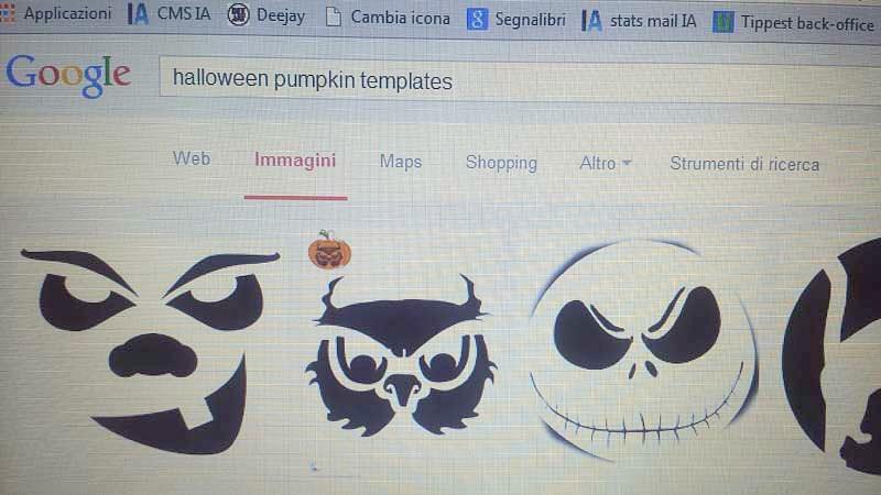 Creare una zucca di halloween da paura in 6 mosse for Immagini zucca di halloween