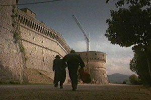 Hudson Hawk con Bruce Willis a San Leo