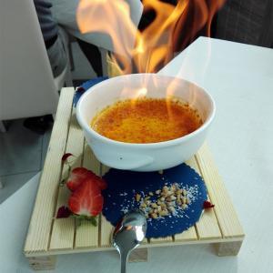 dolce flambe ne Le Vele di Bellaria