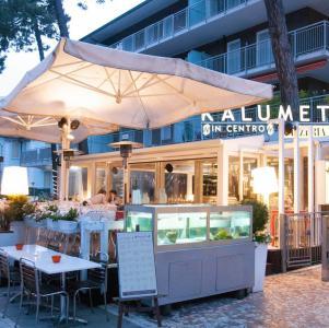 Kalumet in centro, ristorante senza glutine a Milano Marittima