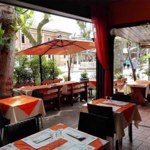 mangiare all'aperto a Bellaria Igea Marina