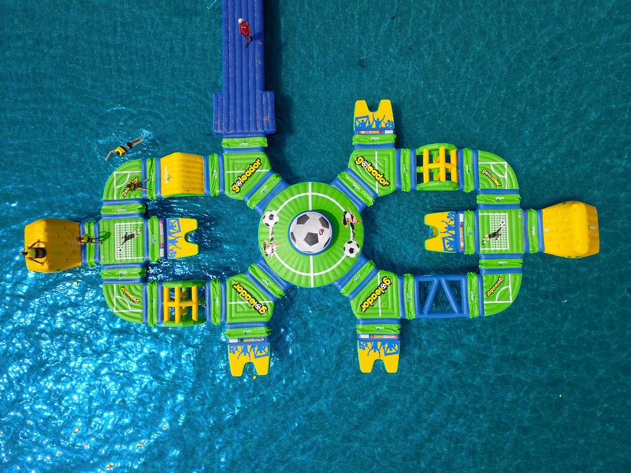 Boabay: il parco acquatico galleggiante di Rimini