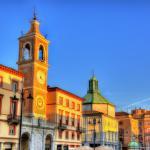 Torre dell'orologio a Piazza tre Martiri, Rimini