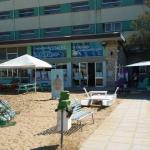 Riccione, ingresso della fondazione cetacea e ospedale delle tartarughe