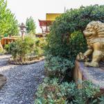 Giardino con statue Fiabilandia